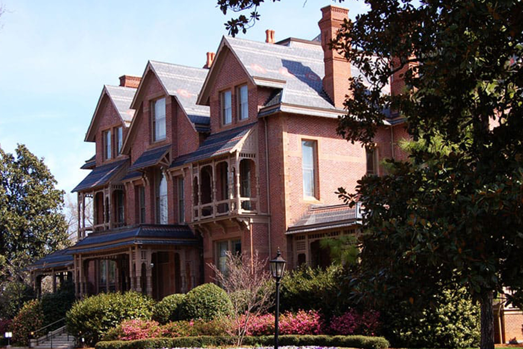 Large Red Brick Home